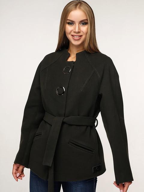 Пальто черное Favoritti 5165640
