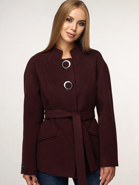 Пальто коричневе Favoritti 5165650
