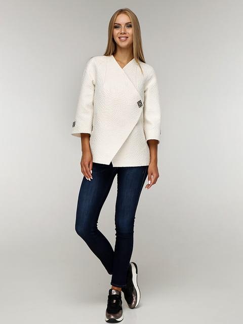 Пальто белое Favoritti 5165655