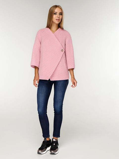 Пальто рожеве Favoritti 5165661