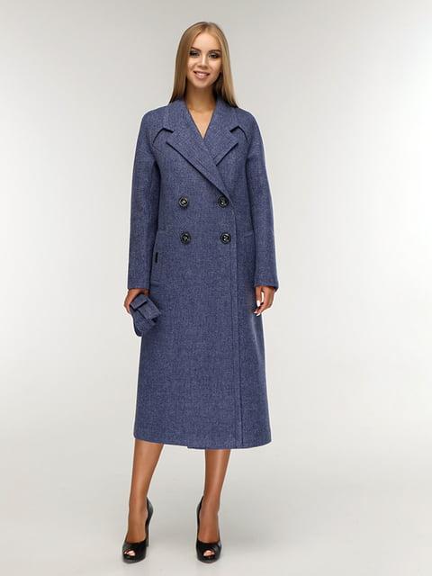 Пальто синее Favoritti 5165666