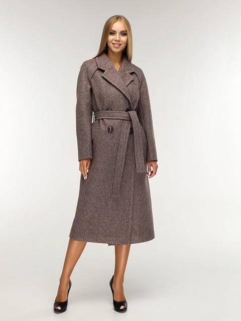 Пальто коричневе Favoritti 5165670