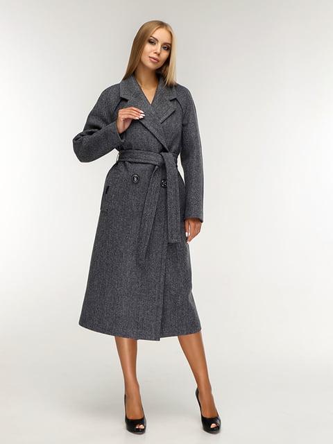 Пальто сіре Favoritti 5165671