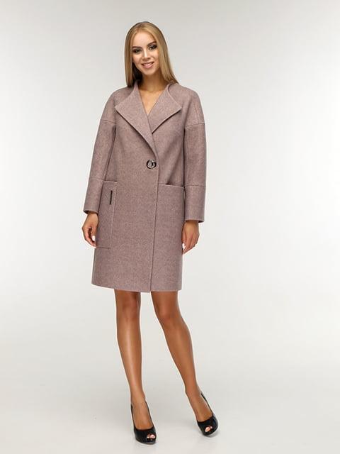 Пальто коричневе Favoritti 5165672