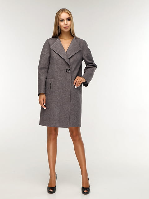 Пальто сіре Favoritti 5165674