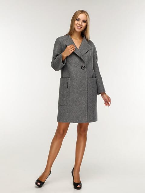 Пальто сіре Favoritti 5165675