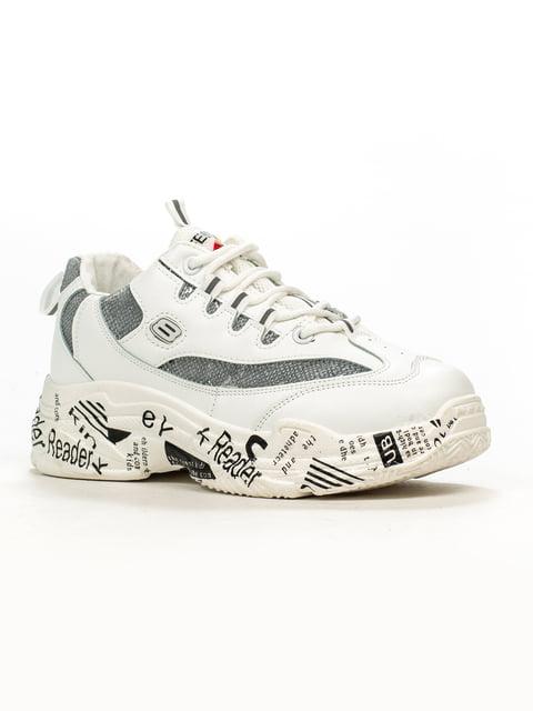 Кроссовки белые Ideal 5164524