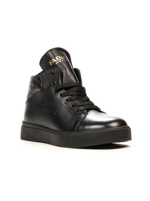 Ботинки черные Fabiani 5166299