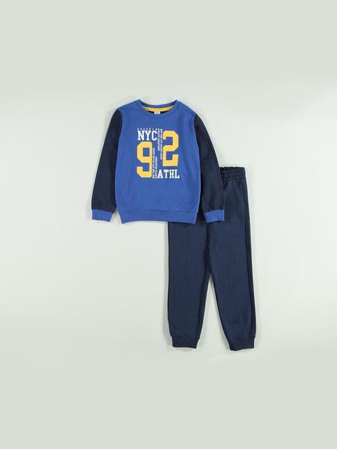 Костюм спортивний: світшот і штани Piazza Italia 5154647