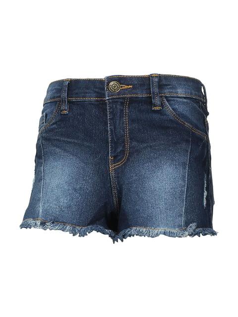 Шорты темно-синие джинсовые Piazza Italia 5161636