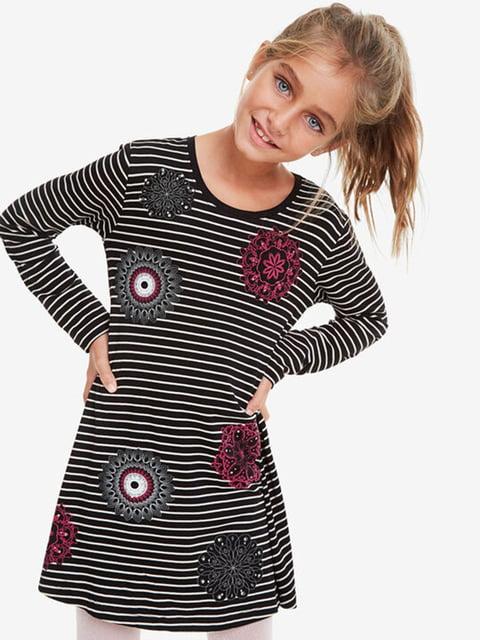Сукня в смужку з принтом Desigual 5162918