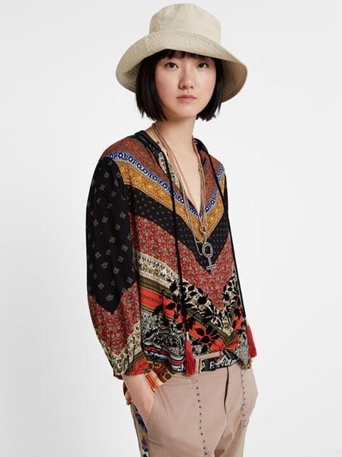 Блуза комбінованого забарвлення Desigual 5162947