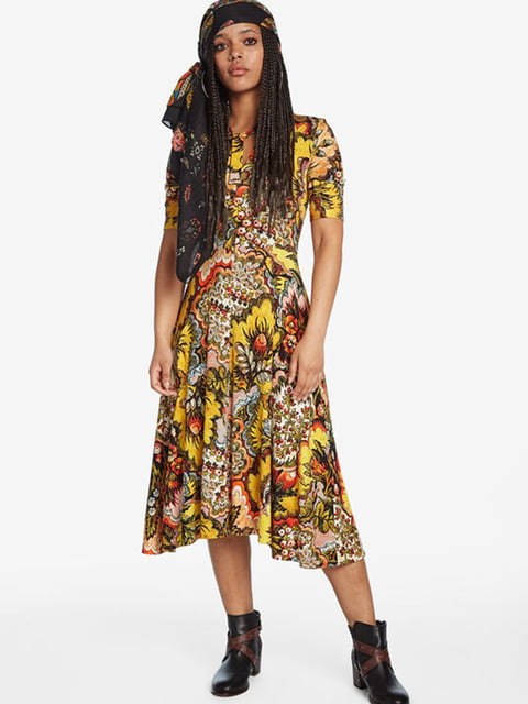 Сукня в принт Desigual 5162981