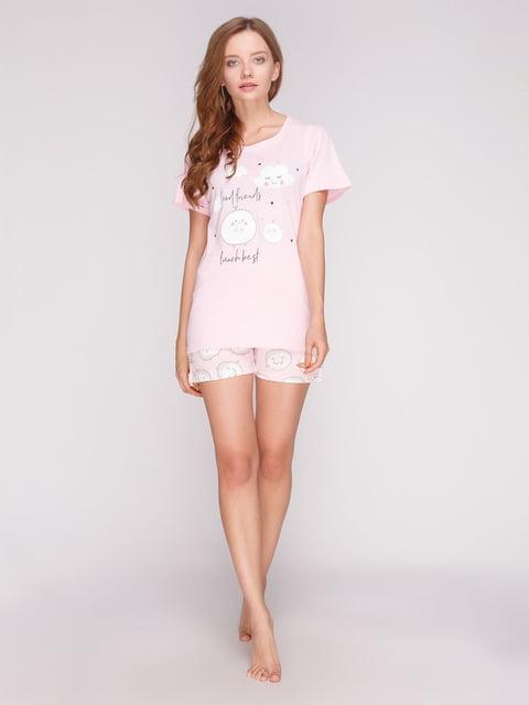 Комплект: футболка та шорти PIJAMONI 5166262