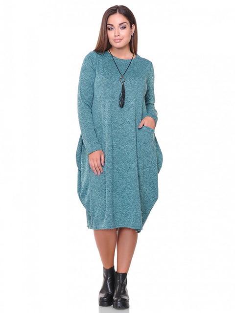Платье изумрудного цвета Peony 3747162