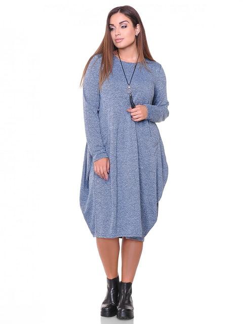 Платье джинсового цвета Peony 3747164