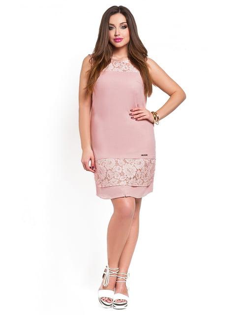 Платье персикового цвета Peony 3778394