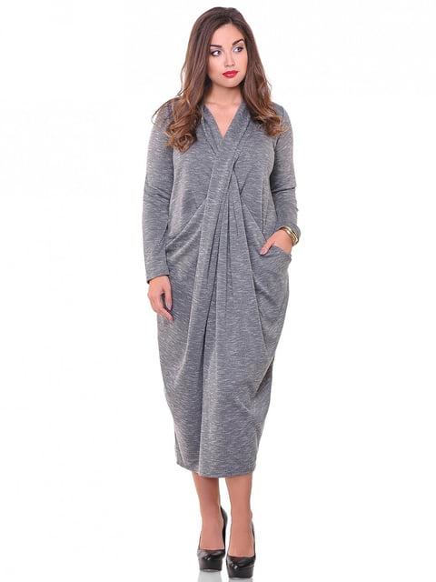 Платье серое Peony 3896512