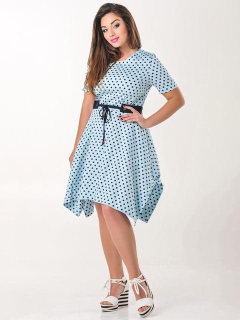 Платье голубое в горох Peony 4238957