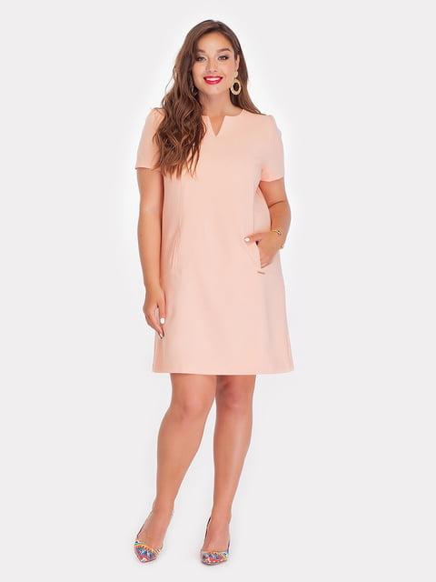 Платье абрикосового цвета Peony 4308140