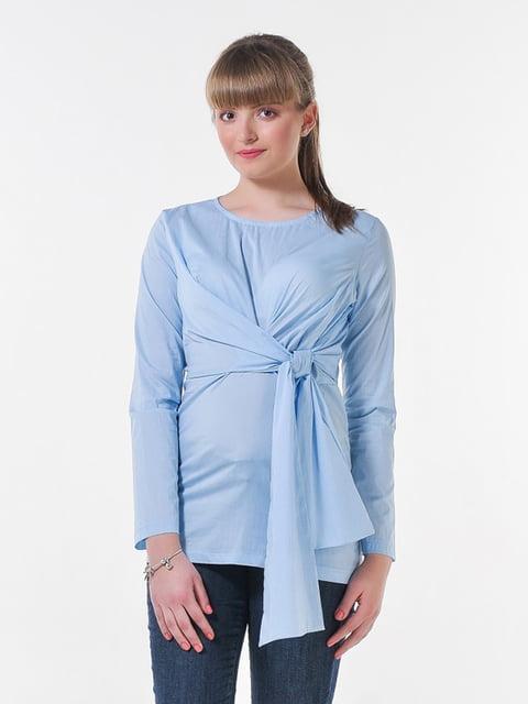 Блуза голубая Peony 4396063