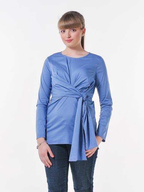 Блуза джинсового цвета Peony 4396064