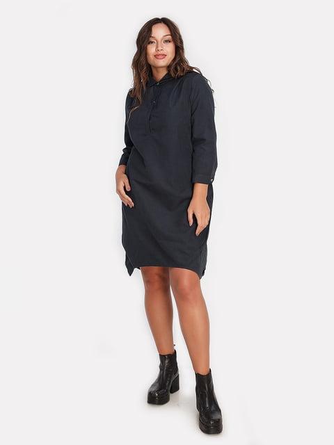Платье графитового цвета Peony 4613334