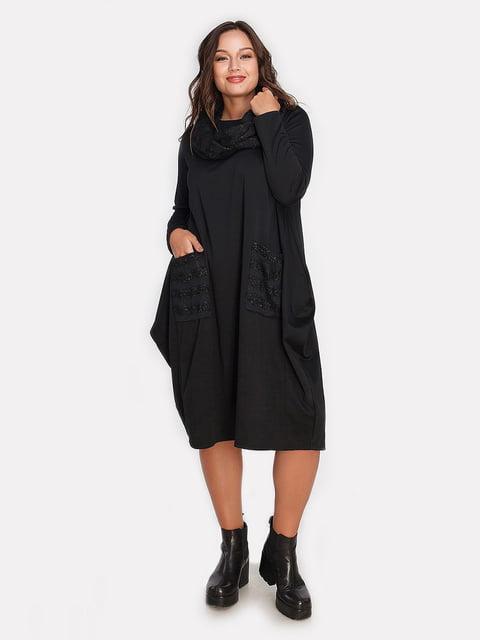 Платье черное Peony 4613339