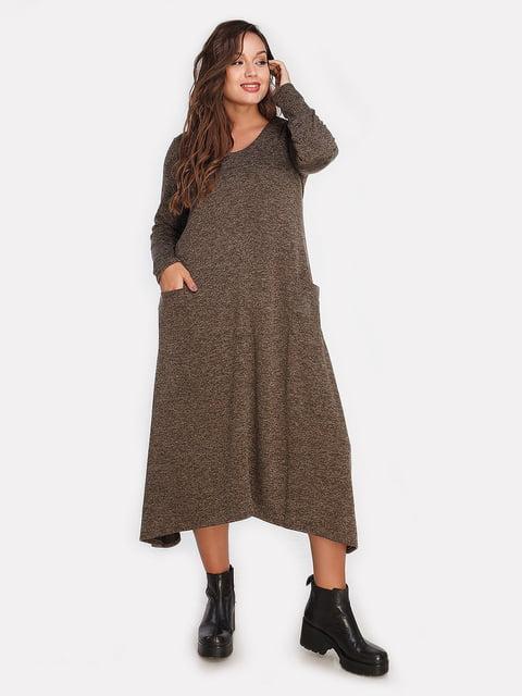 Платье оливкового цвета Peony 4613341
