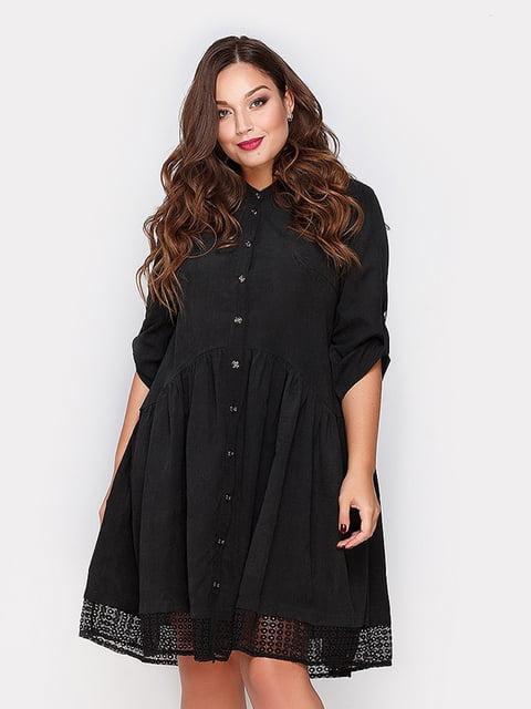 Платье черное Peony 4665202