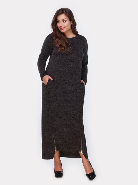 Платье черное Peony 4951026