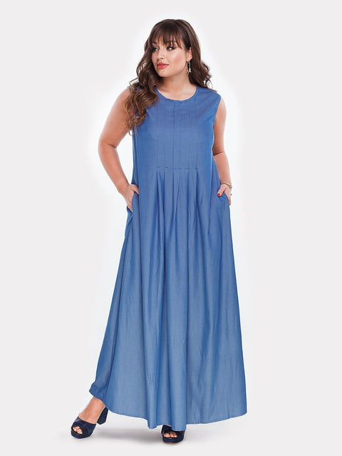 Платье голубое Peony 4977631