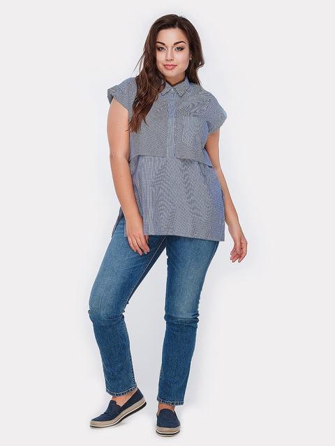 Блуза синяя Peony 5039490