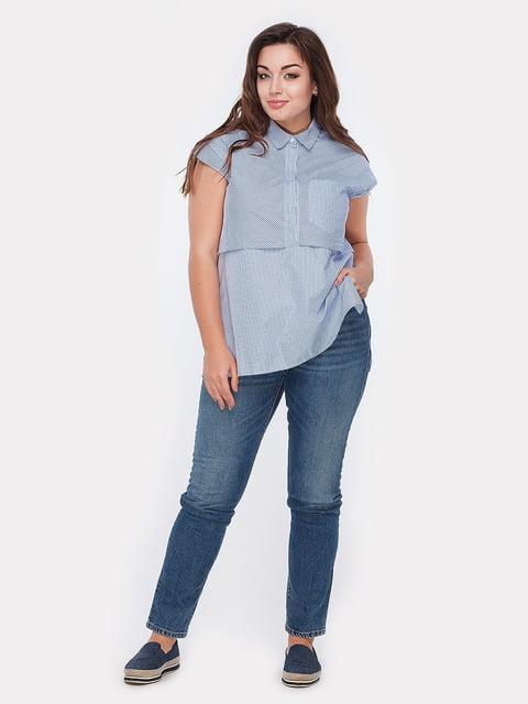 Блуза голубая Peony 5039492