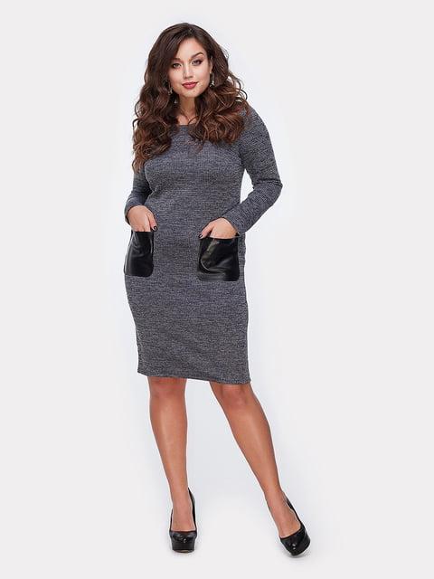 Платье графитового цвета Peony 5087802