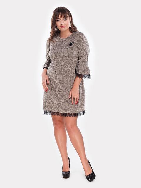 Платье бежевое Peony 5105115