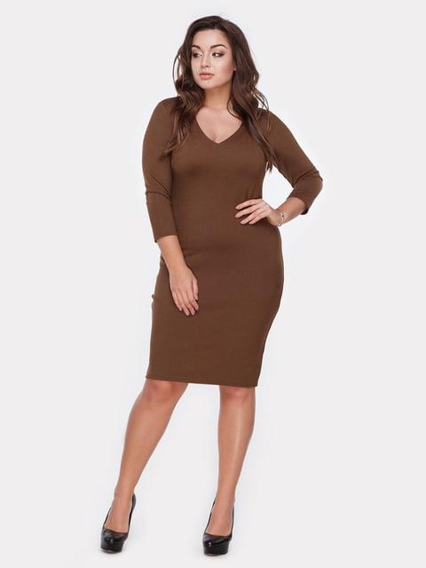 Платье горчичного цвета Peony 5105130