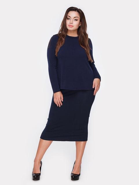 Блуза темно-синяя Peony 5105132