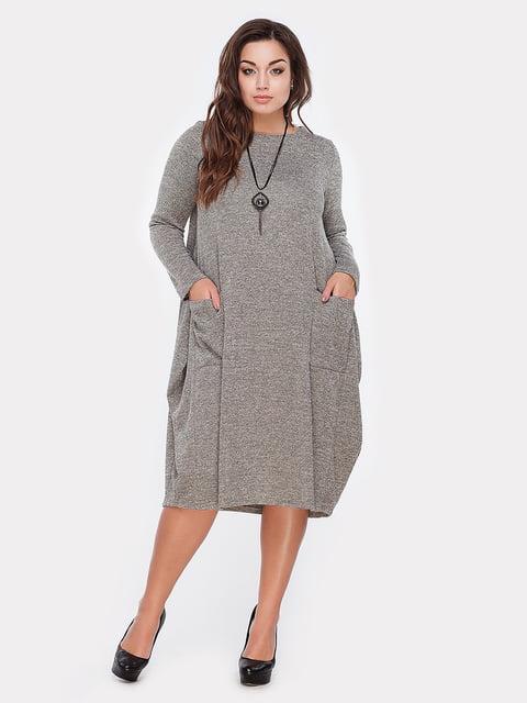 Платье оливкового цвета Peony 5105137