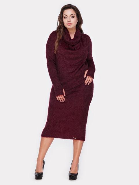 Платье цвета марсала Peony 5105143