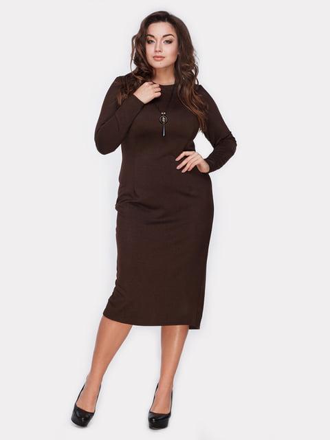 Платье коричневое Peony 5105146