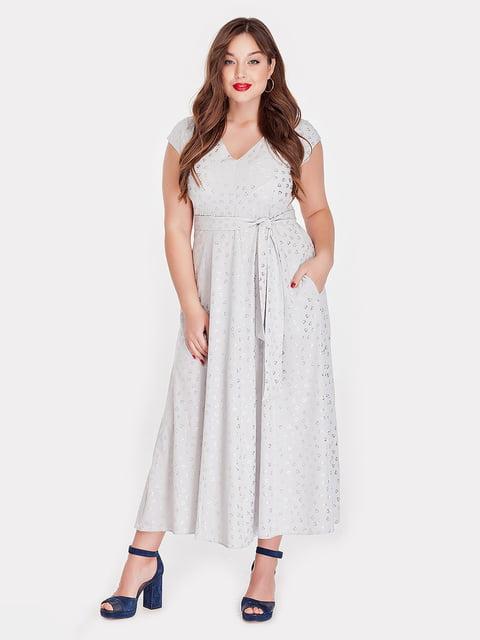Платье серое Peony 5115496