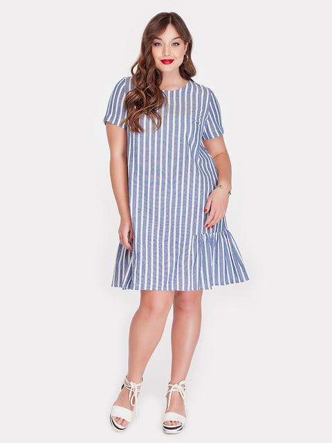 Платье синее Peony 5115505