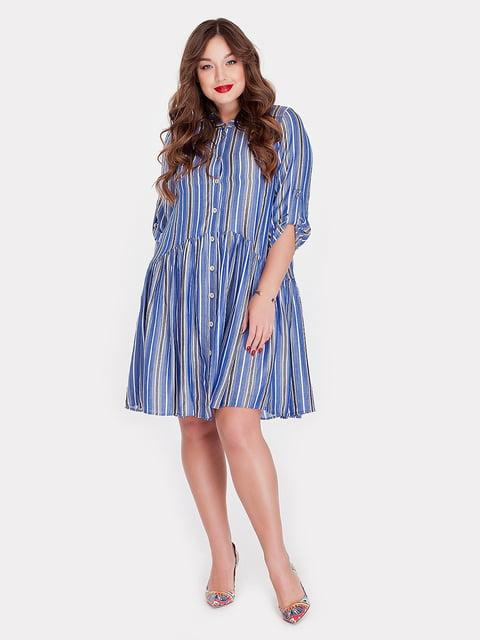 Платье синее Peony 5115506