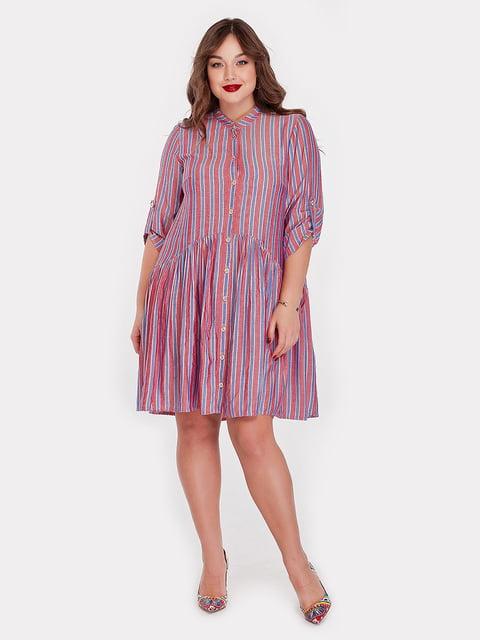 Платье алого цвета Peony 5115507