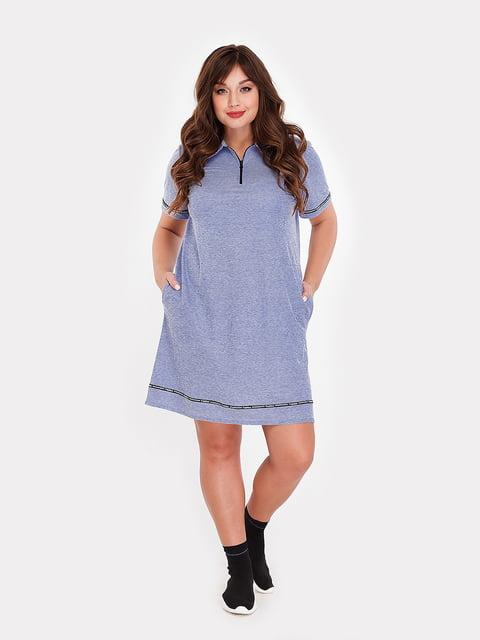 Платье синее Peony 5115512