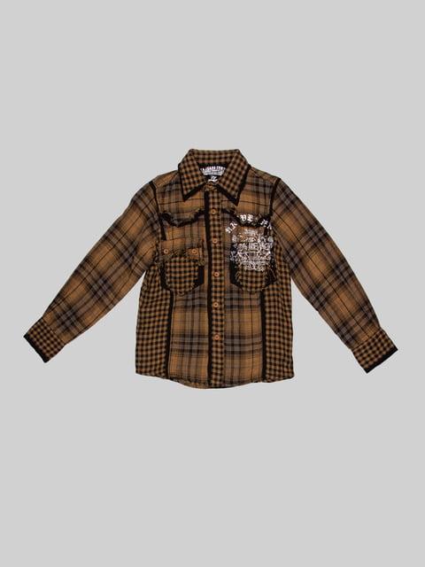 Рубашка в клетку CTK 2913638
