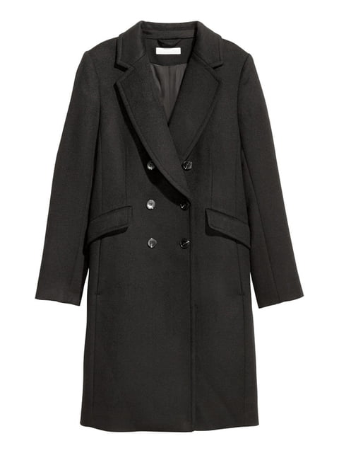 Пальто черное H&M 5168917