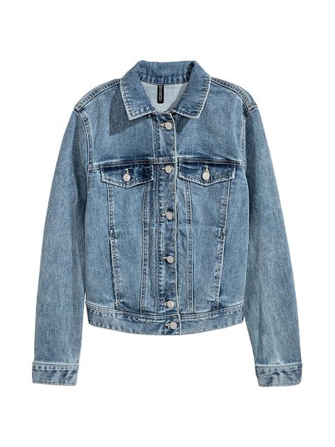 Куртка джинсовая голубая H&M 5168929