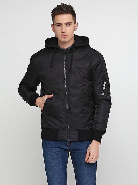 Куртка чорна H&M 5169118